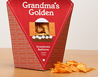 Grandma's Golden Potato Chips