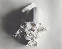 Skull lady _small sculpture