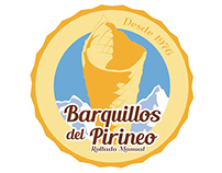 Barquillos del Pirineo - Logo and Web Design