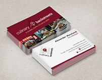 Culinary Backstreets Business Cards
