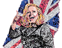 Thumbs Up Adele! XL Recordings D&AD Submission