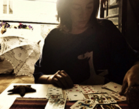 A menina das cartas