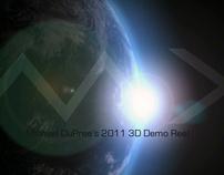 2011 3D Demo Reel
