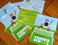 Martin's Tennis School Branding
