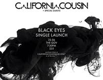 CaliforniaCousin Black Eyes