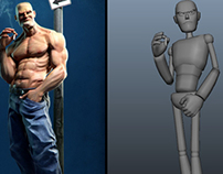 Character Pose 3D