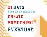 21 Days - Vector Challenge: create something everyday.