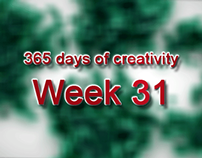 365 days of creativity/art - Week 31