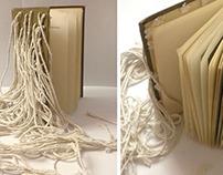 Libro objeto. Autorretrato