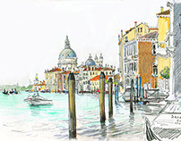 Venice. Travel book.