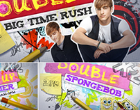 Nickelodeon Promo Graphics