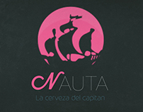 NAUTA - La cerveza del capitan beer label concepts