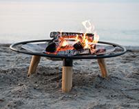 Brændt Firepit