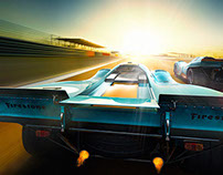 """917k 1970 Daytona"" by Willie von Recklinghausen (CGI)"