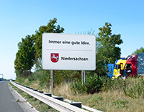 Autobahnschilder Niedersachsen