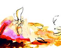 rapido, watercolor
