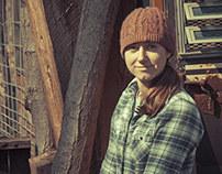 Jess at her Farm