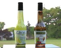 Kuhne Lemon Juice & Grape Vinegar C4D