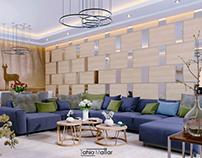 Modern Living room _ Iraq