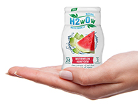 H2wOw Water Enhancer | Packaging Design