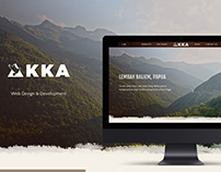 KKA Coffee - Web Design