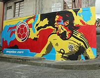 PROYECTO SOCIAL / Mural Selección Colombia 2014