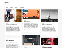 Square - Responsive Multi-Purpose Theme