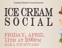 Print - Ice Cream Social Flyer