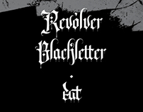 Revólver Blackletter