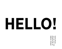 HELLO! w/ Adobe