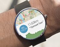 Runkeeper App Concept | Smart Watch - Android Wear