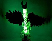 Maleficent Table Lamp