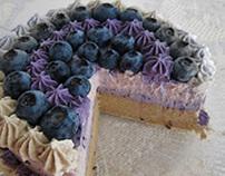 Zomick's Blueberry Vanilla Cake