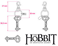"Keyrings ""The Hobbit"""