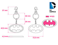 DC Comics keyrings