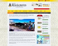 Website Portal Media Kalimantan