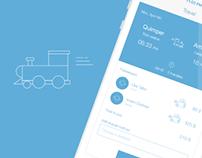 Travel App - Wireframes