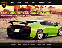 Lamborghini Website - Revamp