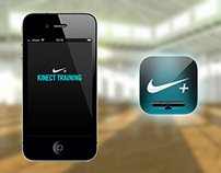 Nike+ Kinect Training Mobile App