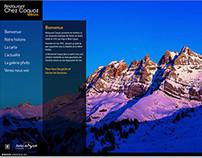 Web Site - Restaurant Coquoz