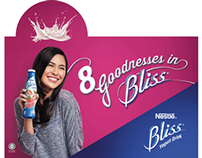 Nestle Bliss - Shopper BTL designs