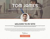 Template 49159 - Responsive WordPress Theme for Designe