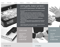 Business Protection Systems site template