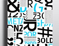 Especimenes tipograficos META*