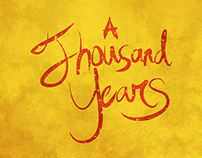 Typography - A Thousand Years