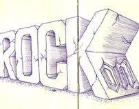 Sketchy Letters - April 2011