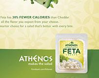 Athenos Feta Launch Campaign