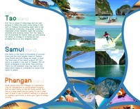 Thailand Travel Brochure.