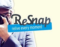 ReSnap web design