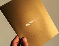 Desdobrável Copek Design